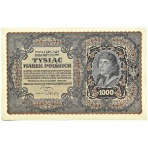 Polska, II RP, 1000 marek 1919, III serja AL - typ 8