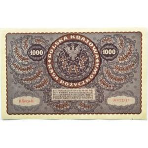 Polska, II RP, 1000 marek 1919, II serja B - typ 4