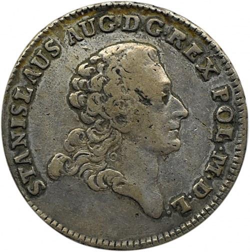Stanisław A. Poniatowski, dwuzłotówka 1774 A.P., Warszawa
