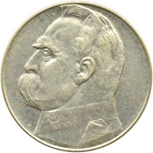 Polska, II RP, Józef Piłsudski, 10 złotych 1936, Warszawa