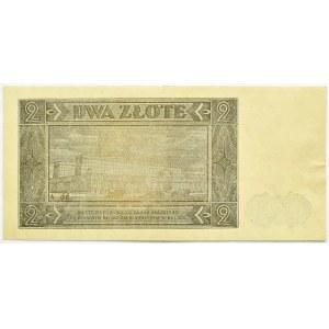 Polska, RP, 2 złote 1948, seria AH, Warszawa