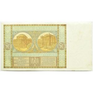 Polska, II RP, 50 złotych 1929, seria EB, Warszawa