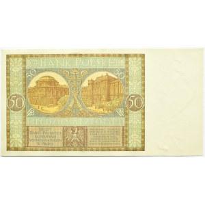 Polska, II RP, 50 złotych 1929, seria EP, Warszawa, UNC/UNC-
