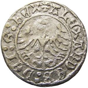 Aleksander I Jagiellończyk, półgrosz koronny bez daty, Kraków