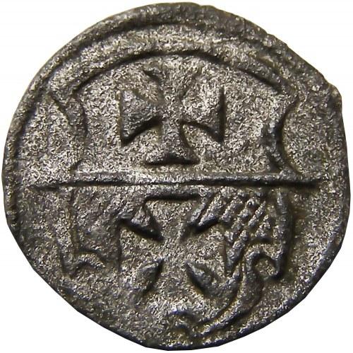 Zygmunt I Stary, denar bez daty, Elbląg (R2)