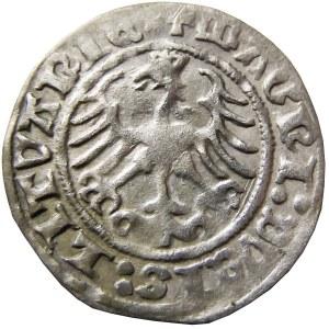 Zygmunt I Stary, półgrosz 1512, odmienny wariant, Wilno