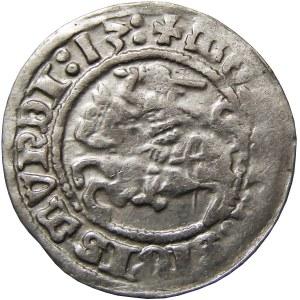Zygmunt I Stary, półgrosz 1513, Wilno, LTVANIE, RRRR!!