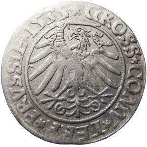 Zygmunt I Stary, grosz 1535, Toruń, PRVSSIE/PRVSSIE
