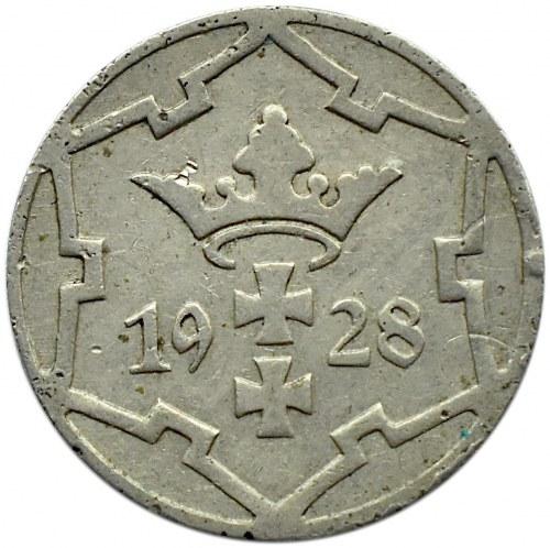 Wolne Miasto Gdańsk, 5 pfennig 1928, Utrecht