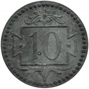 Wolne Miasto Gdańsk, 10 pfennig 1920, Gdańsk