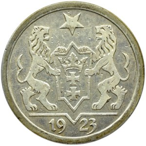 Wolne Miasto Gdańsk, 2 guldeny 1923, Utrecht