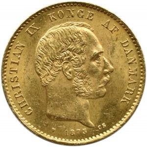 Dania, Christian IX, 20 koron 1873 CS