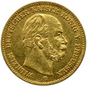 Niemcy, Prusy, Wilhelm I, 5 marek 1877 B, Hannover, rzadkie