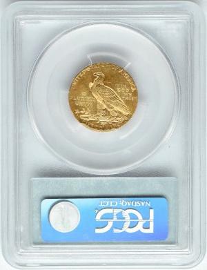 USA, Indianin, 5 dolarów 1911 S, San Francisco, PCGS AU55