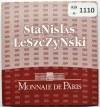 Francja, 20 euro 2008, Stanisław Leszczyński, proof