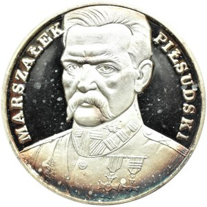 Polska, III RP, 200000 złotych 1990, J. Piłsudski, Duży Tryptyk