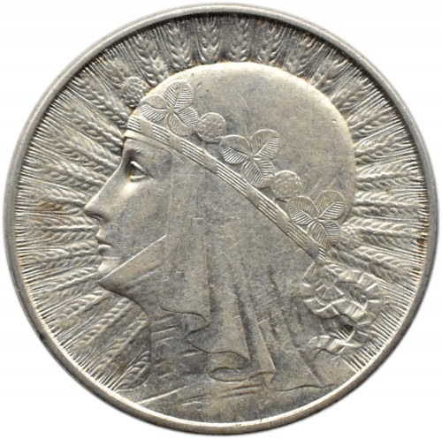 Polska, II RP, Głowa Kobiety, 2 złote 1934, Warszawa