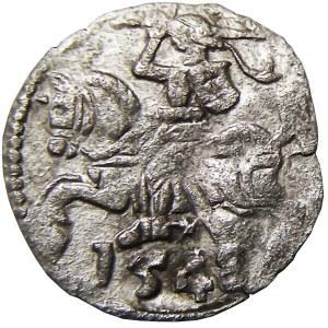 Zygmunt II August, denar 1548, Wilno, bardzo rzadki (R7!!!)
