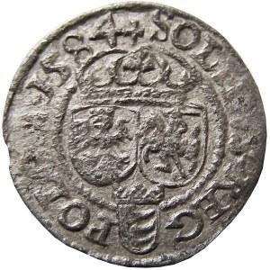 Stefan Batory, szeląg 1584, Olkusz, (R1!)