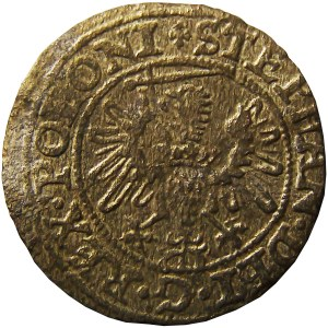 Stefan Batory, szeląg 1578, Gdańsk, bardzo ładny