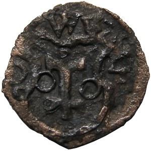 Zygmunt III Waza, denar 1604, Wschowa, (R8), Bardzo rzadki!