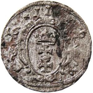 Zygmunt III Waza, ternar 1616, Gdańsk (R5!!) bardzo rzadki