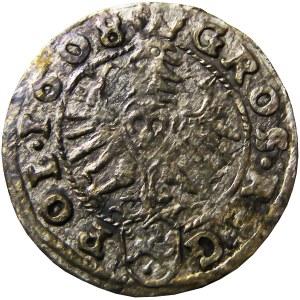 Zygmunt III Waza, grosz 1608, Kraków