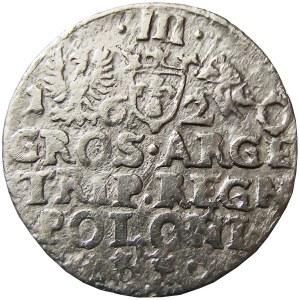 Zygmunt III Waza, trojak 1620, Kraków
