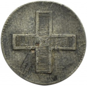 Rosja, Paweł I, żeton koronacyjny 1796, srebro, ładny i rzadki