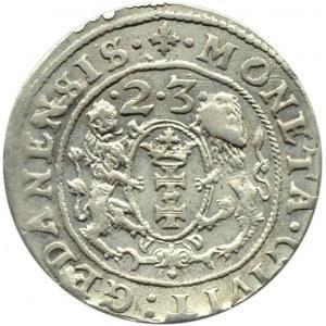 Zygmunt III Waza, ort 1623, Gdańsk