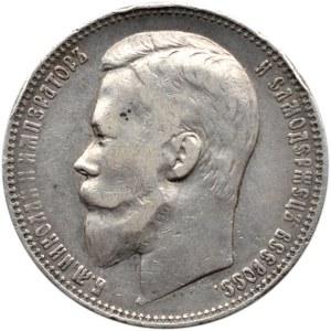 Rosja, Mikołaj II, 1 rubel 1901 FZ, Petersburg