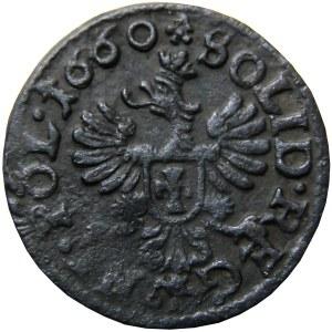 Jan II Kazimierz, szeląg (boratynka) 1660, Ujazdów