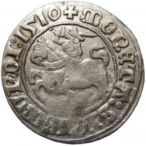 Zygmunt I Stary, półgrosz 1510, Wilno, CIEKAWY