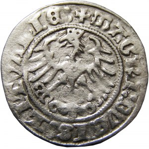 Zygmunt I Stary, półgrosz 1512 skrócona data (1Z), Wilno (116)