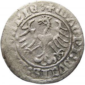 Zygmunt I Stary, półgrosz 1511, Wilno, CIEKAWY - LITVANIE :∙
