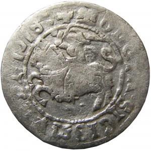 Zygmunt I Stary, półgrosz 1518, Wilno RRR