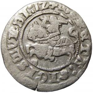 Zygmunt I Stary, półgrosz 1512 skrócona data (1Z), Wilno, CIEKAWY