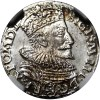 Zygmunt III Waza, trojak 1594, Malbork, NGC MS63