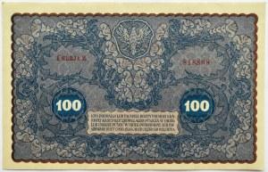 Polska, II RP, 100 marek 1919, I seria Z, UNC