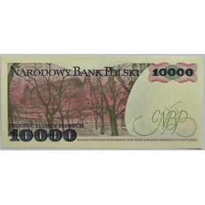 Polska, PRL, 10000 złotych 1988, seria DM, Warszawa, UNC
