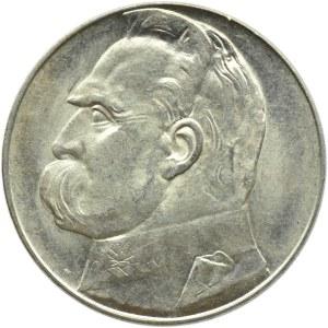 Polska, II RP, Józef Piłsudski, 10 złotych 1939, Warszawa, UNC