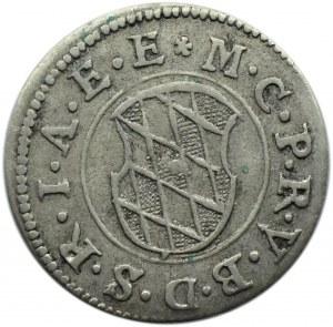 Niemcy, Bawaria, Maksymilian I, 2 krajcary 1624, Monachium