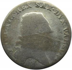 Księstwo Warszawskie, 1/3 talara (dwuzłotówka) 1812 I.B., Warszawa