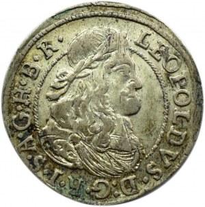 Austria, Leopold I, 3 krajcary 1674, Hall