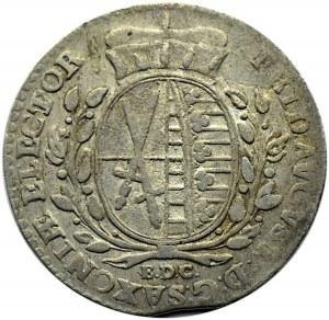 August III Sas, 1/12 talara 1763 EDC, Lipsk
