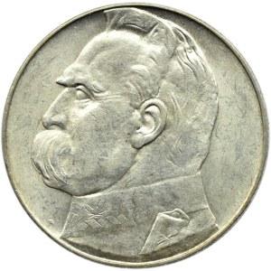 Polska, II RP, Józef Piłsudski, 10 złotych 1938, Warszawa
