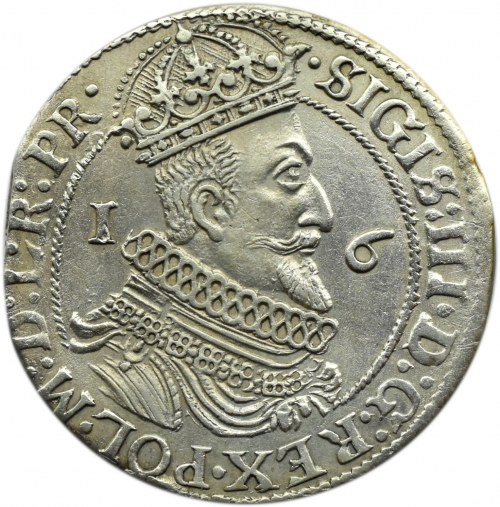 Zygmunt III Waza, ort 1623, Gdańsk - PR, ładny egzemplarz