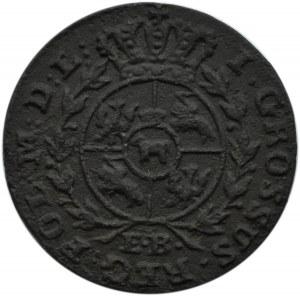 Stanisław A. Poniatowski, grosz 1791 EB, Warszawa