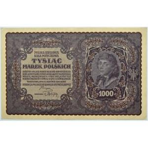 Polska, II RP, 1000 marek 1919, II serja E - typ 4