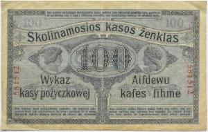 Polska/Niemcy, Poznań 100 rubli 1916 OST, bez serii